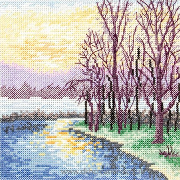 Lake View Cross Stitch Kit